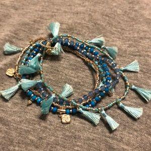 Julie turquoise bracelet set